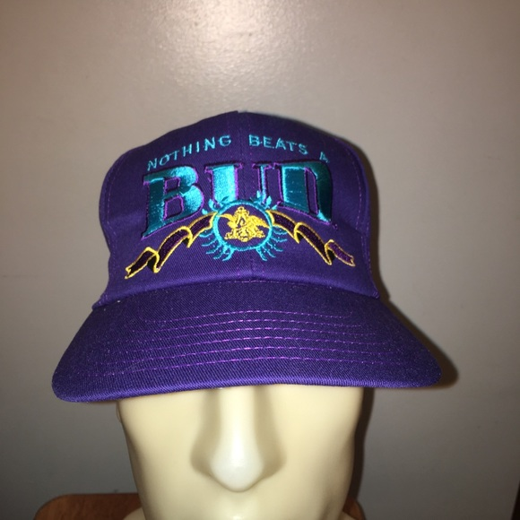 VTG 90's Nothing Beats A Bud SnapBack Hat